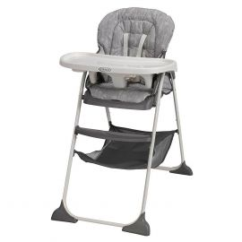 Folding High Chair for Babies & Toddlers-gray