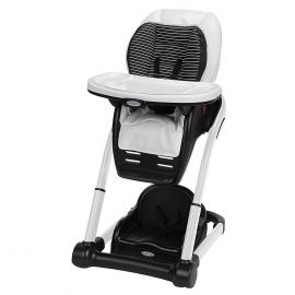 Folding High Chair for Babies & Toddlers-white